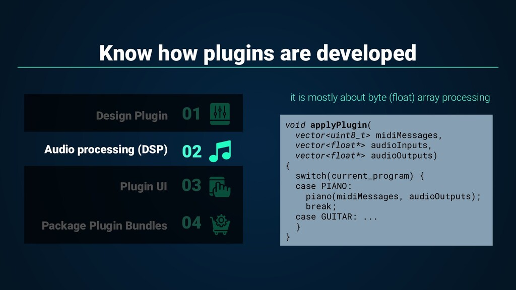 Know how plugins are developed it is mostly abo...