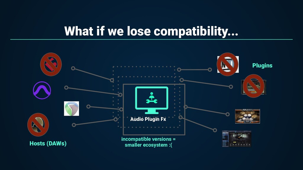 What if we lose compatibility... incompatible v...