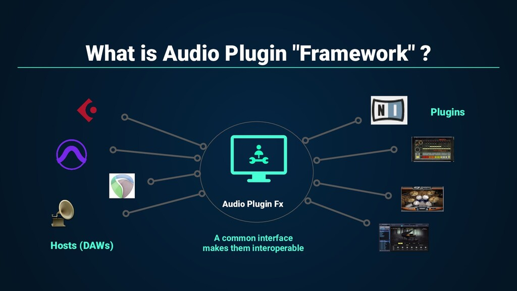 "What is Audio Plugin ""Framework"" ? A common int..."