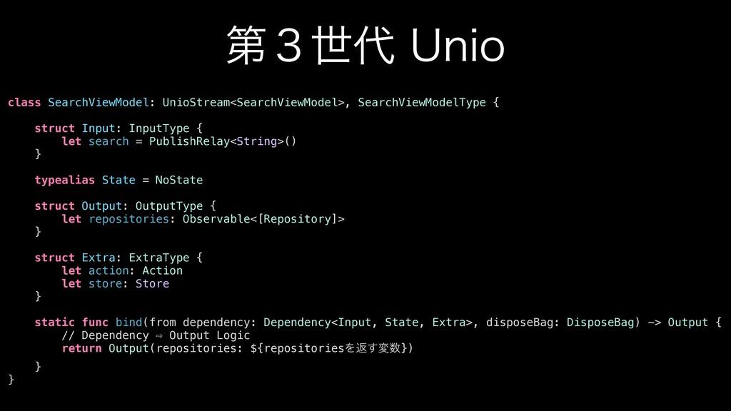 ୈ̏ੈ6OJP class SearchViewModel: UnioStream<Sea...