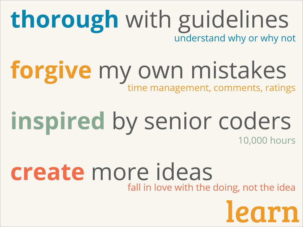 learn thorough with guidelines forgive my own m...