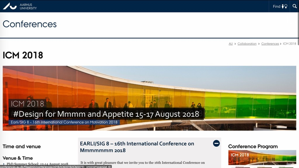 #Design for Mmmm and Appetite 15-17 August 2018...