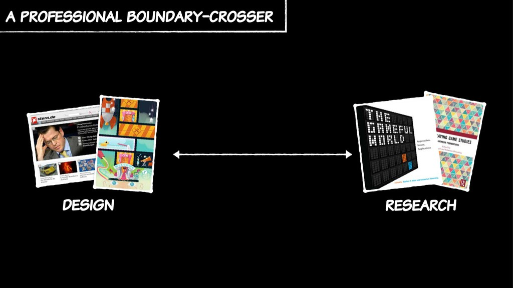 a professional boundary-crosser research design