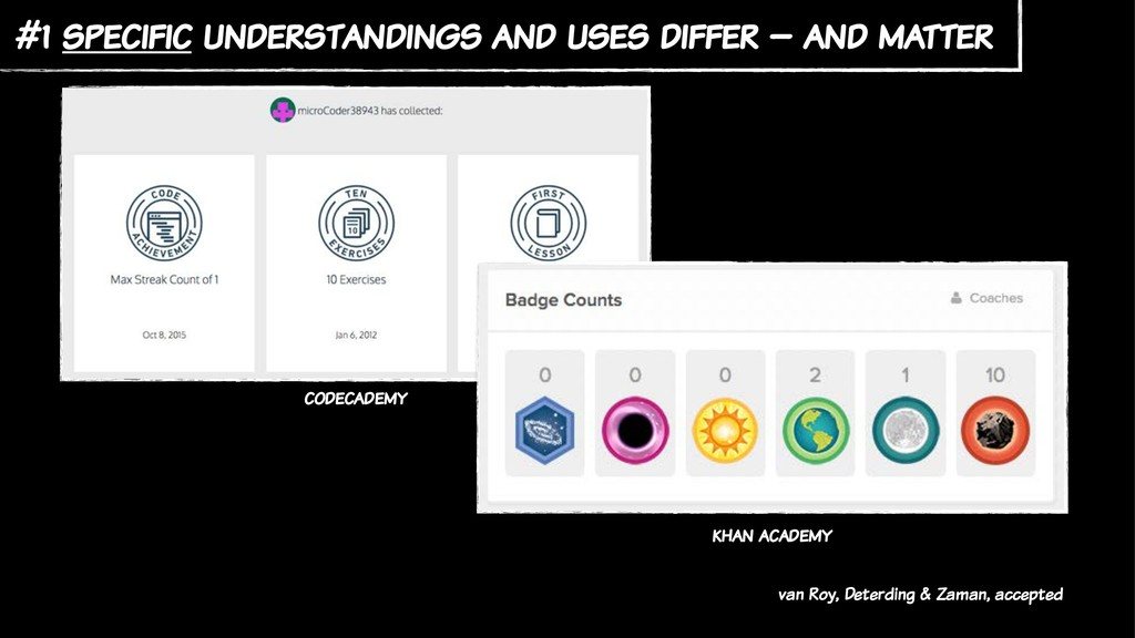 #1 specific understandings and uses differ – an...
