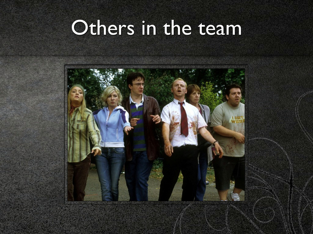 Others in the team