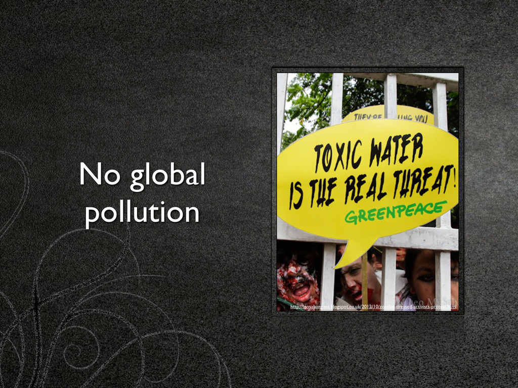 No global pollution http://leosabanganii.blogsp...