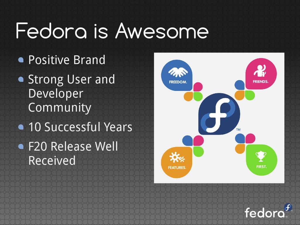Positive Brand Strong User and Developer Commun...