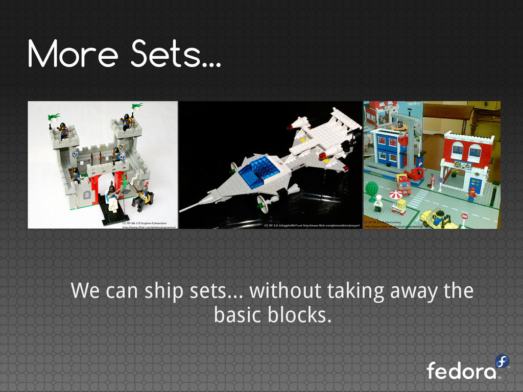More Sets... We can ship sets... without taking...