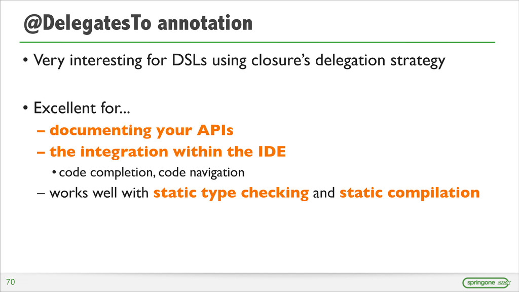 @DelegatesTo annotation • Very interesting for ...