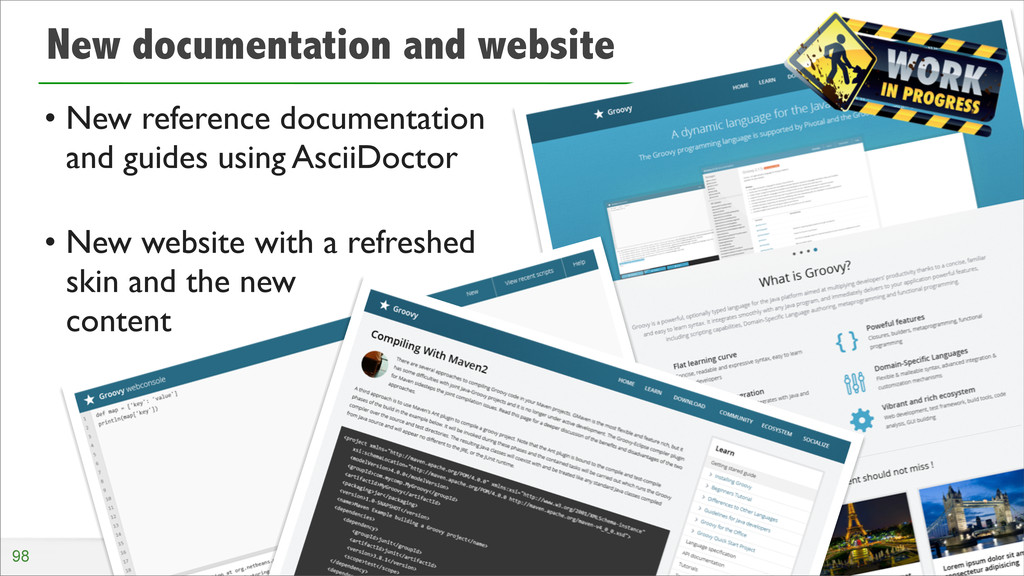 New documentation and website • New reference d...