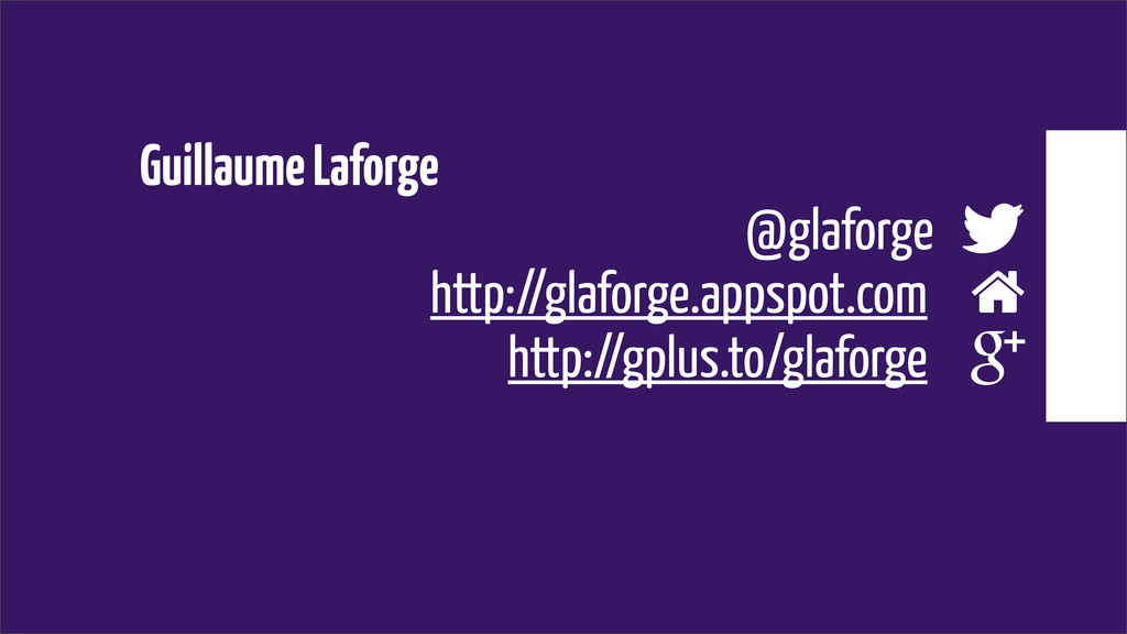 Guillaume Laforge @glaforge  http://glaforge.a...