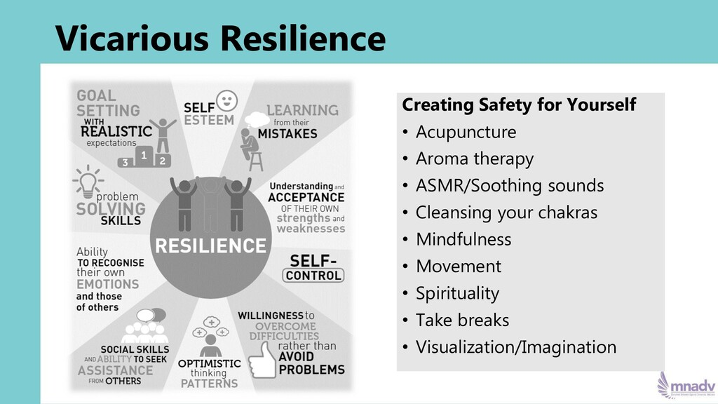Vicarious Resilience Creating Safety for Yourse...