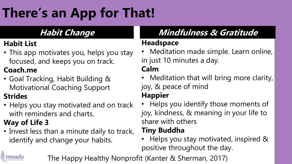 There's an App for That! Habit List • This app ...
