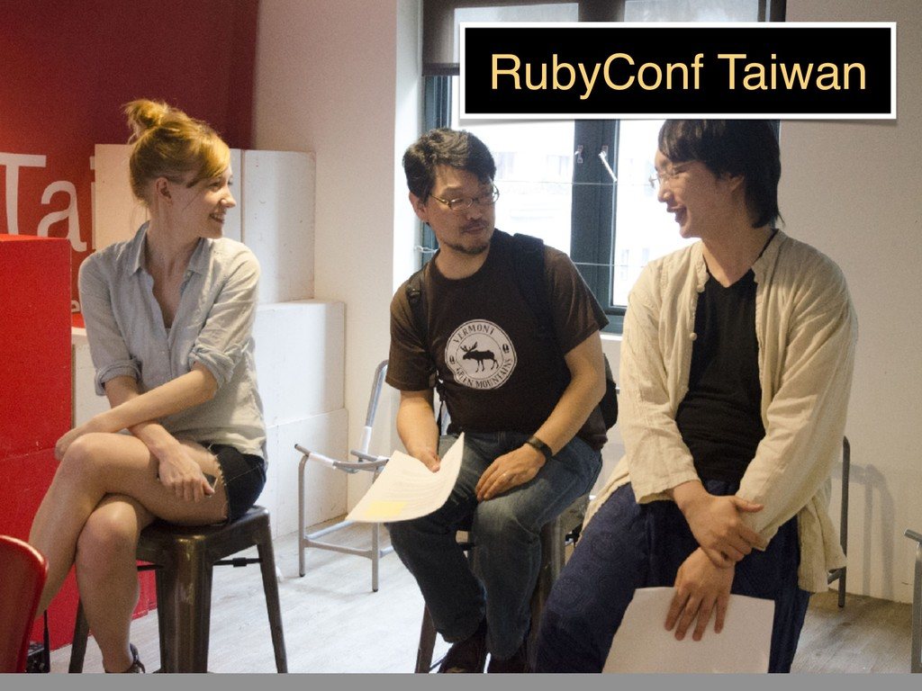 RubyConf Taiwan
