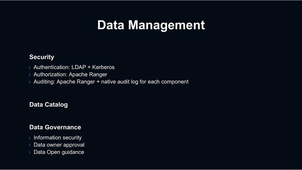 Data Management Data Catalog Data Governance › ...