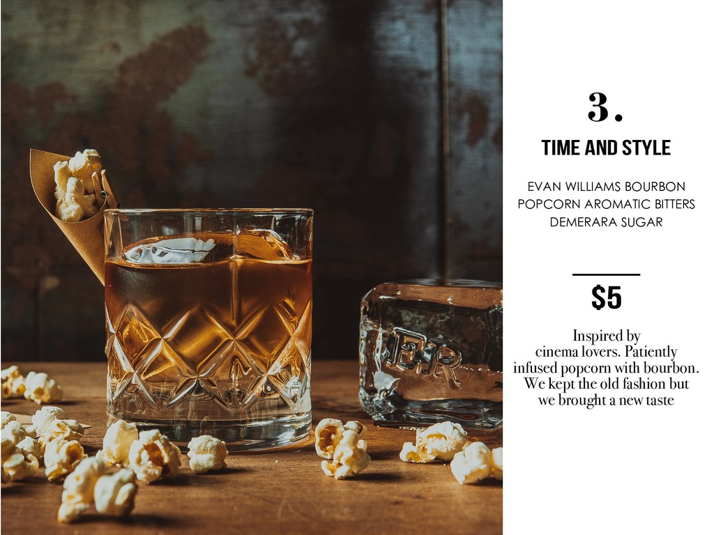 3. TIME AND STYLE EVAN WILLIAMS BOURBON POPCORN...