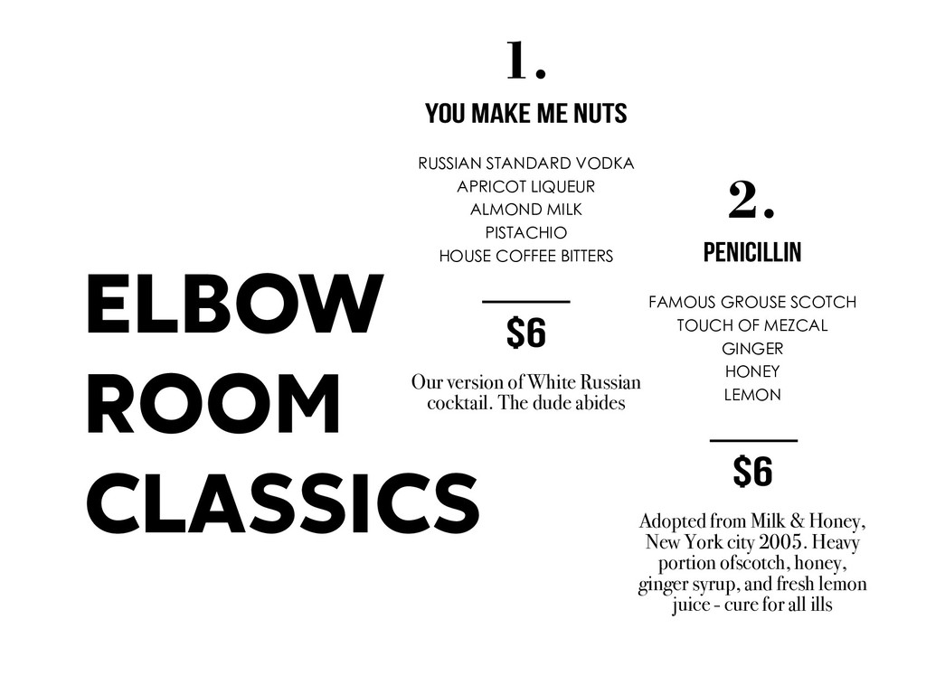 ELBOW ROOM CLASSICS 2. PENICILLIN FAMOUS GROUSE...