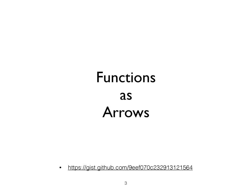Functions as Arrows 3 • https://gist.github.com...