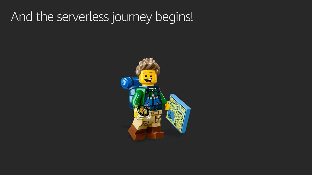 And the serverless journey begins!