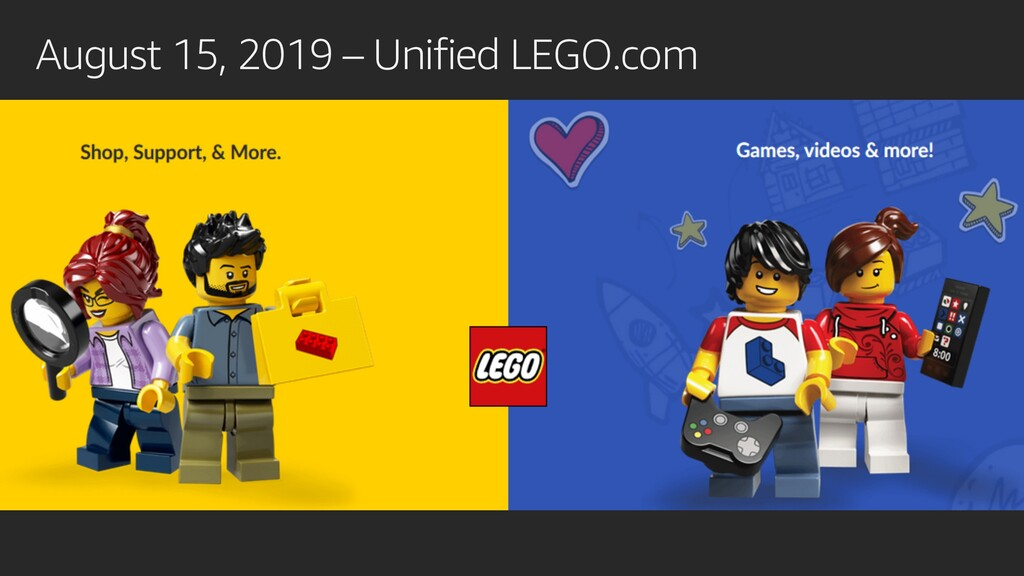 August 15, 2019 – Unified LEGO.com