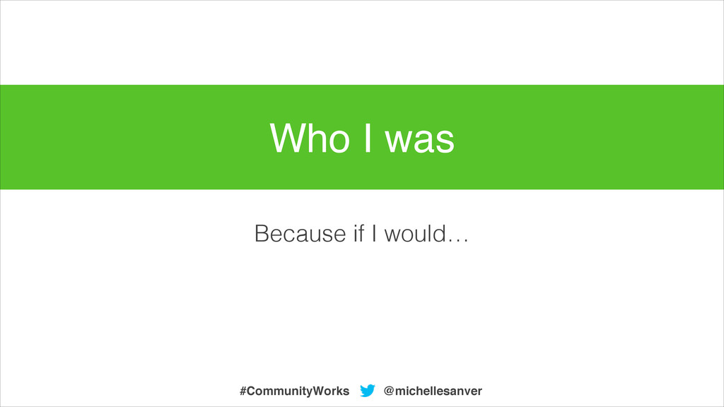 Because if I would… @michellesanver #CommunityW...