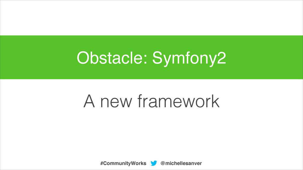 A new framework @michellesanver #CommunityWorks...
