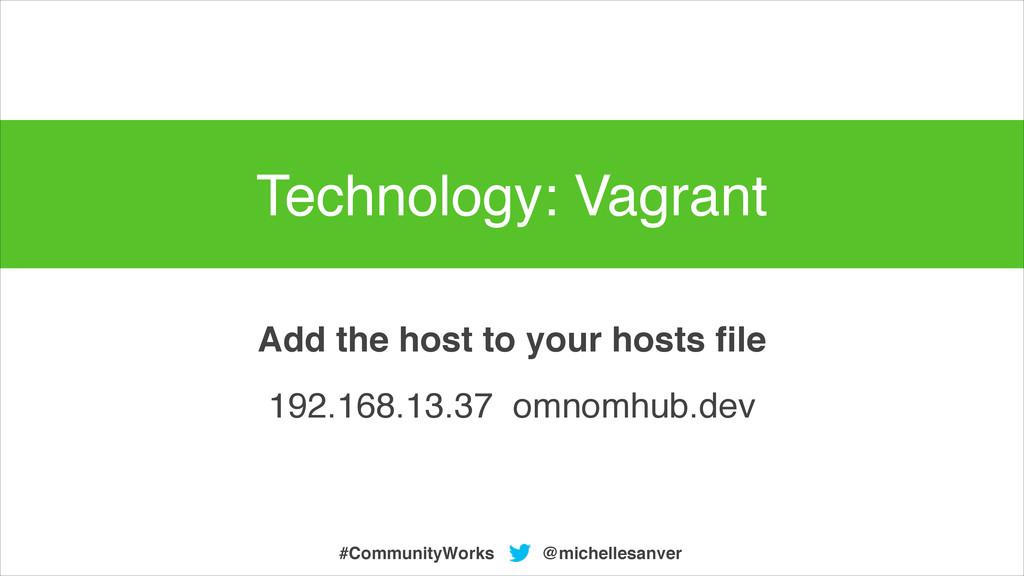 @michellesanver #CommunityWorks 192.168.13.37 o...