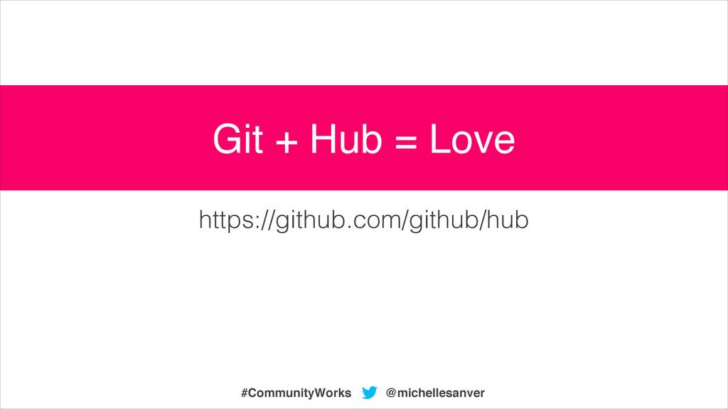 @michellesanver #CommunityWorks https://github....