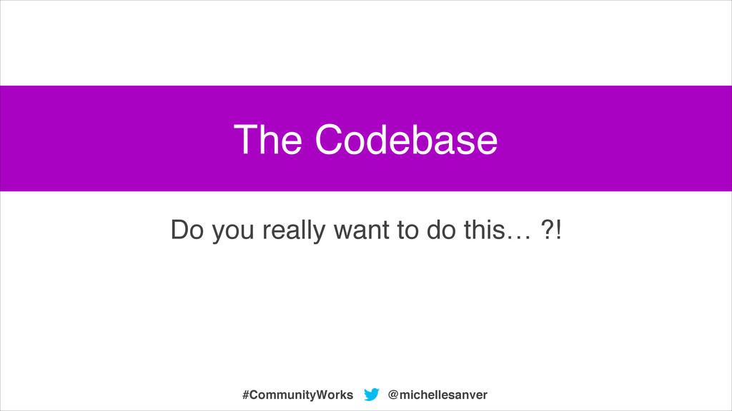 @michellesanver #CommunityWorks Do you really w...