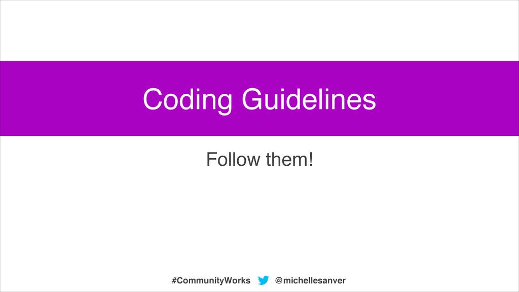 @michellesanver #CommunityWorks Follow them! Co...
