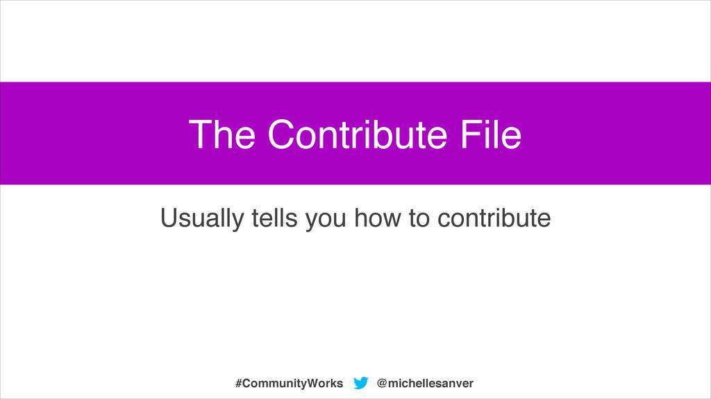 @michellesanver #CommunityWorks Usually tells y...