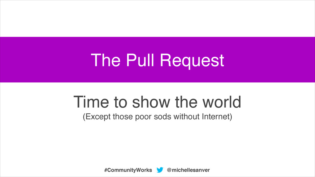 @michellesanver #CommunityWorks Time to show th...