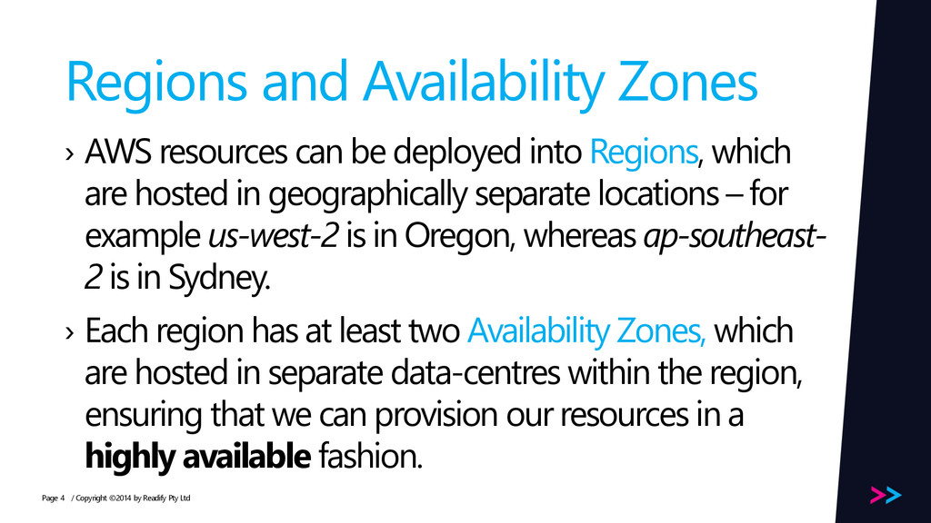 Page Regions and Availability Zones › AWS resou...