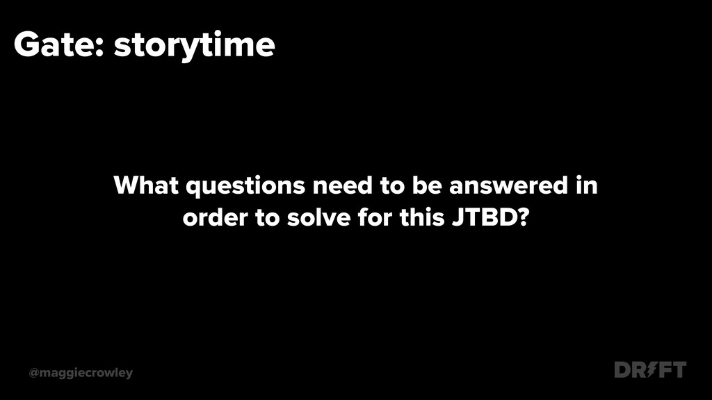Gate: storytime @maggiecrowley What questions n...