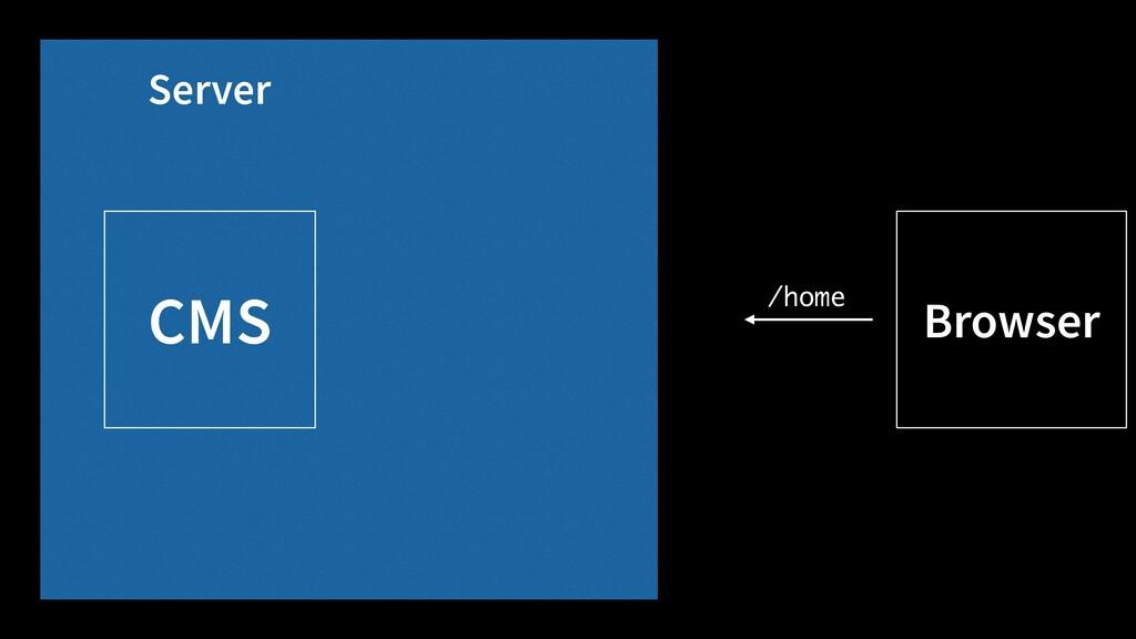 CMS Browser Server /home