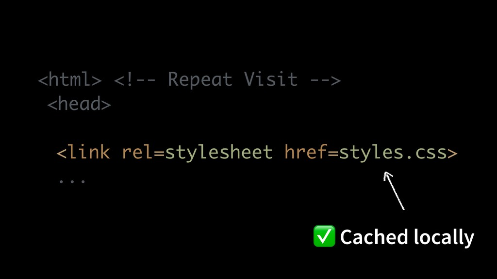 <html> <!-- Repeat Visit -- >  <head >  <link r...