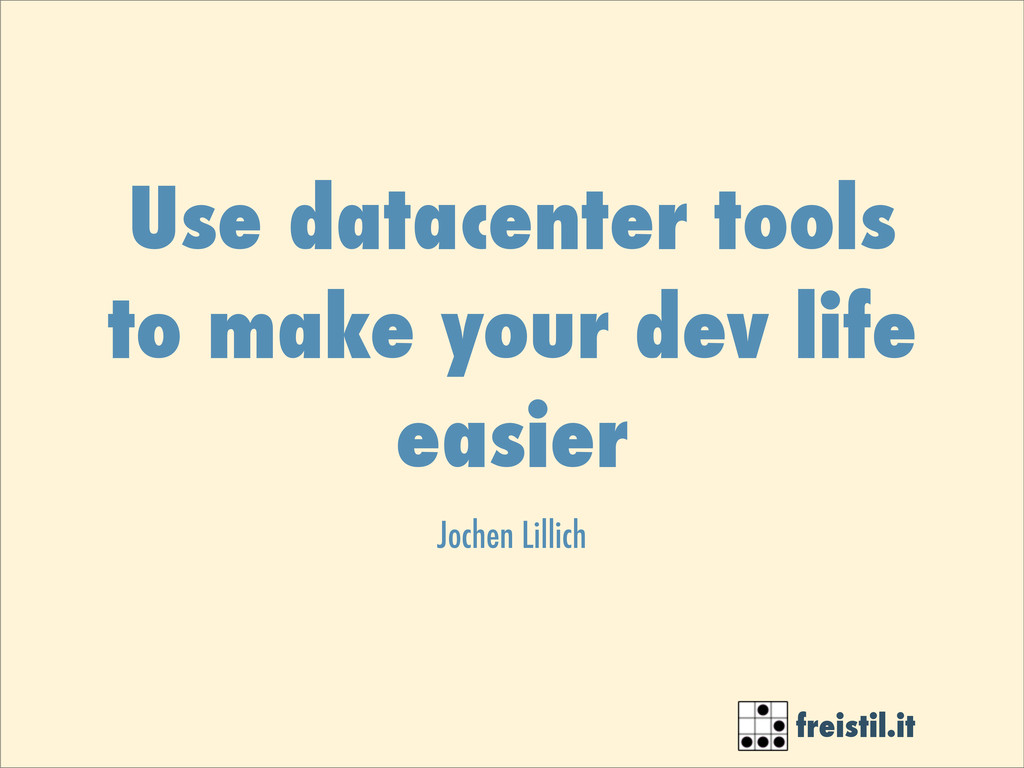 freistil.it Use datacenter tools to make your d...