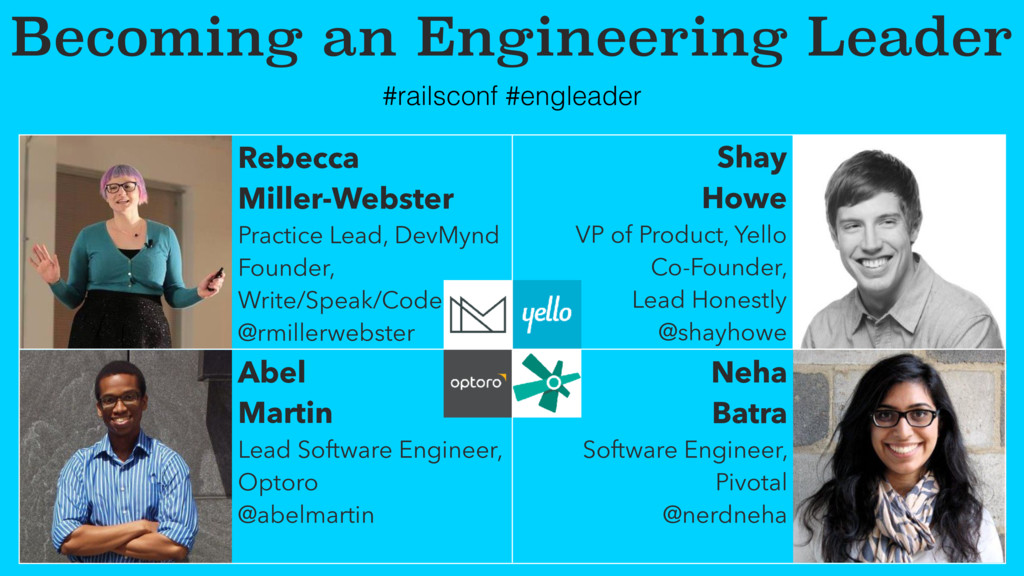 Becoming an Engineering Leader Rebecca Miller-W...