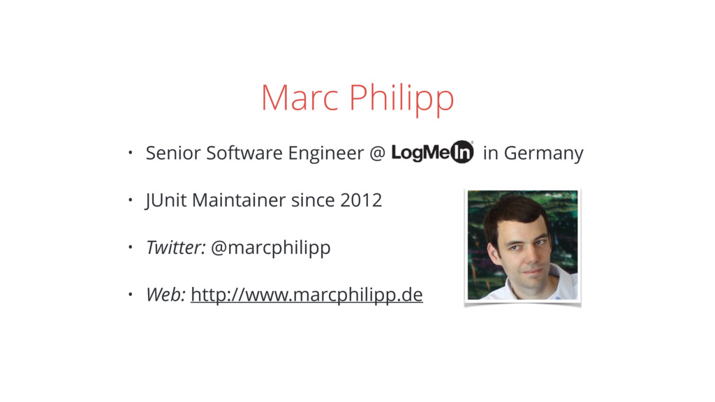 Marc Philipp • Senior Software Engineer @ in Ge...