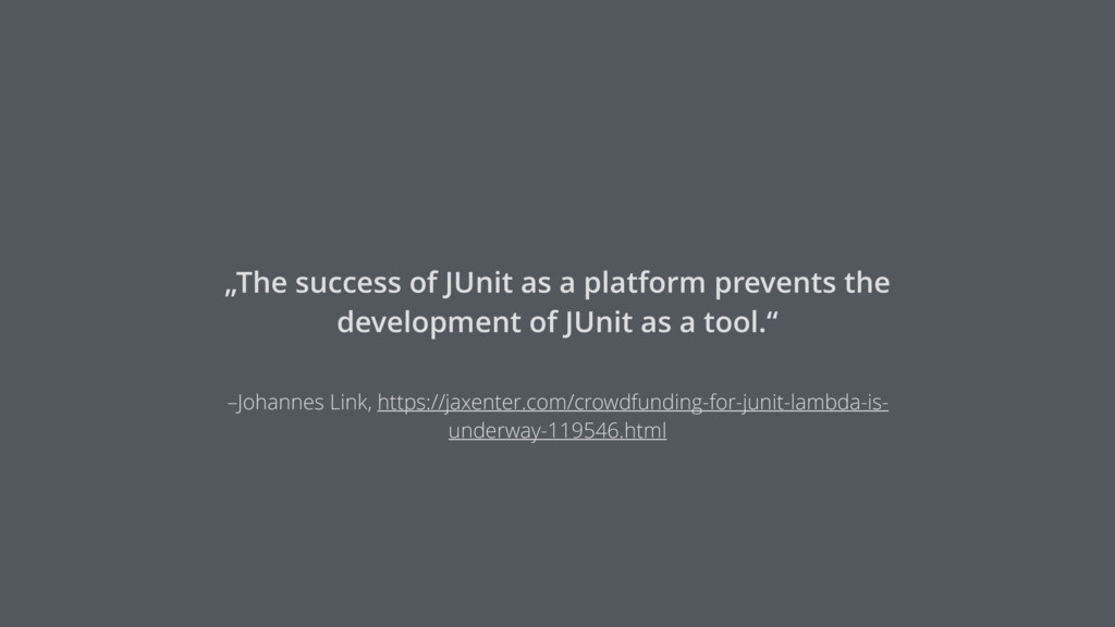 –Johannes Link, https://jaxenter.com/crowdfundi...