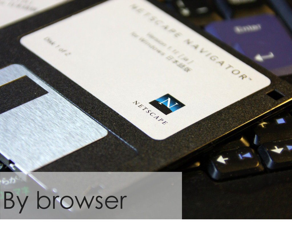 By browser