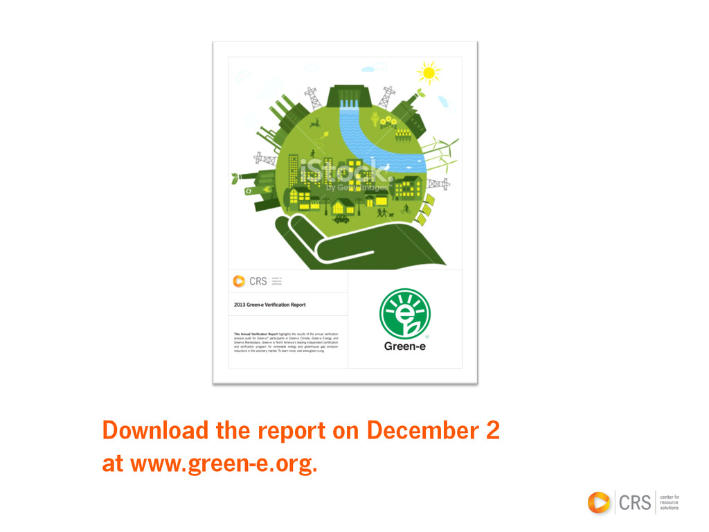 Download the report on December 2 at www.green-...