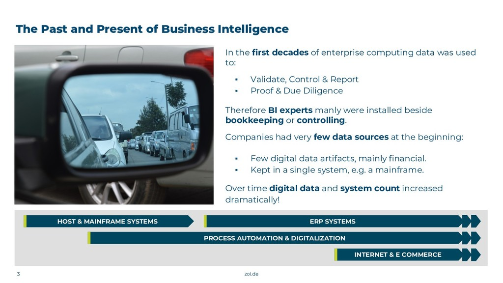 The Past and Present of Business Intelligence I...