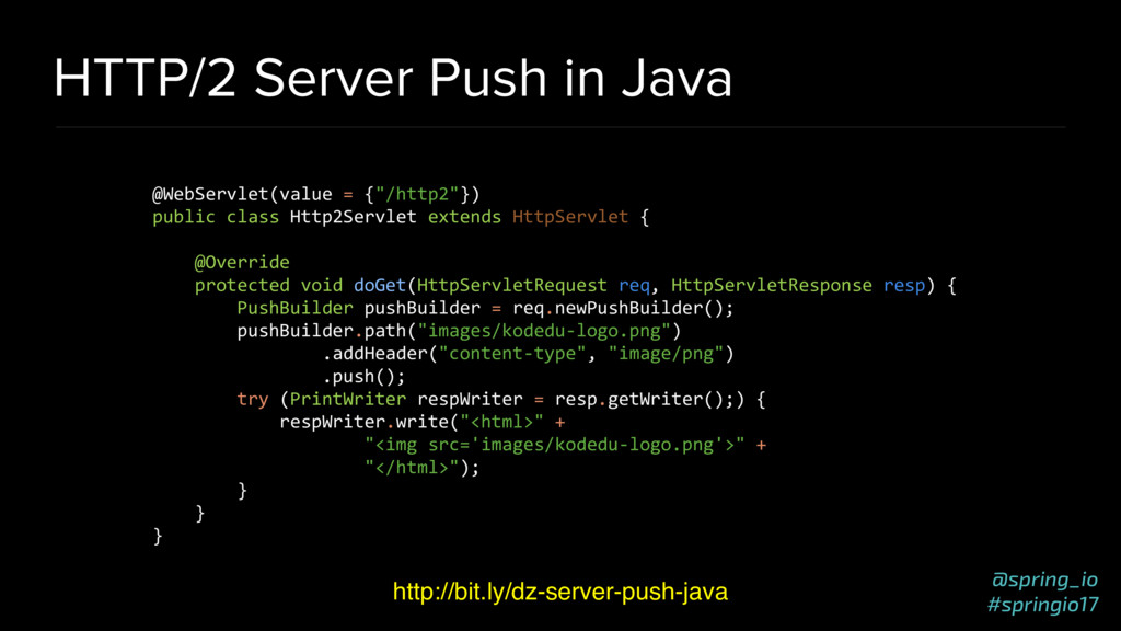 @spring_io #springio17 HTTP/2 Server Push in Ja...