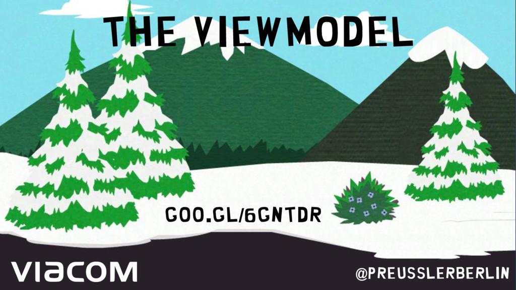 The ViewModel @PreusslerBerlin goo.gl/6gNTDr