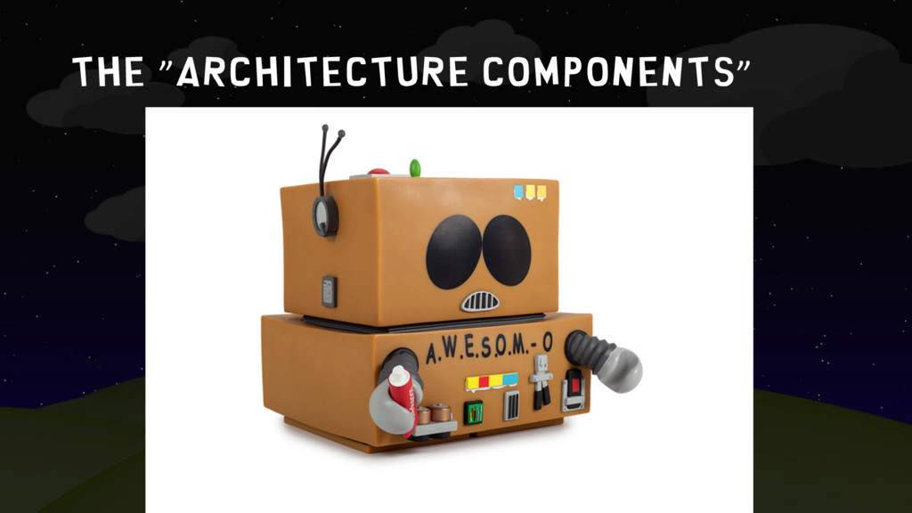 "The ""architecture components"""