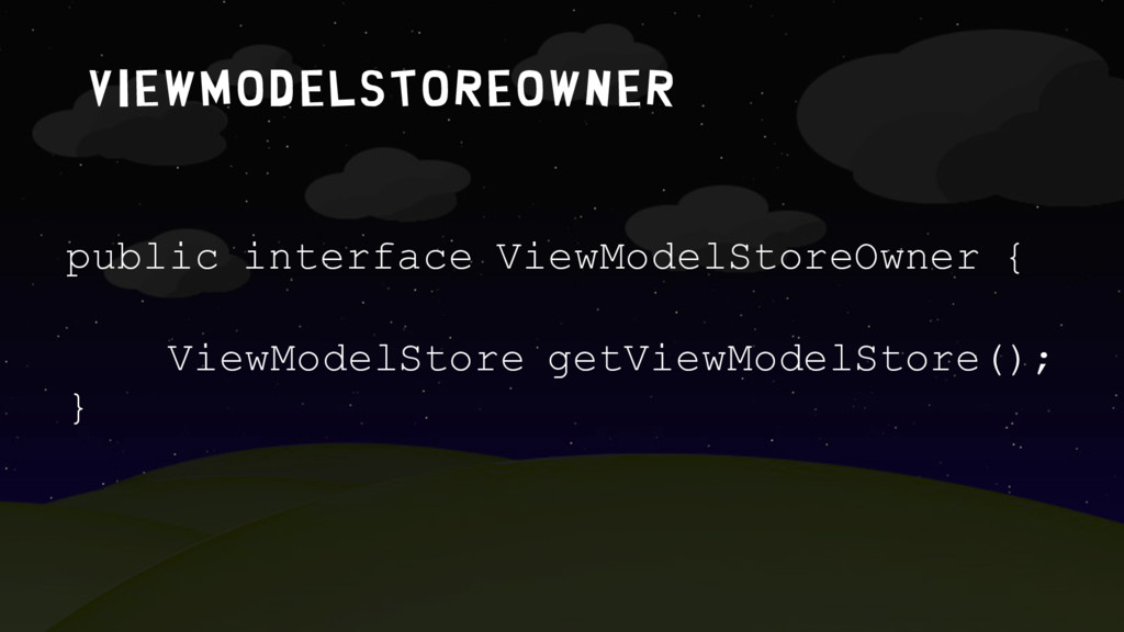 Viewmodelstoreowner public interface ViewModelS...