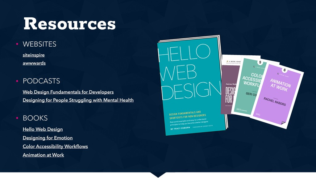 Resources • WEBSITES siteinspire awwwards • P...