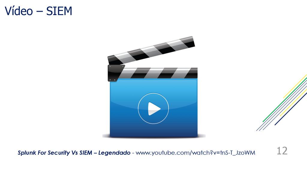 Vídeo – SIEM 12 Splunk For Security Vs SIEM – L...