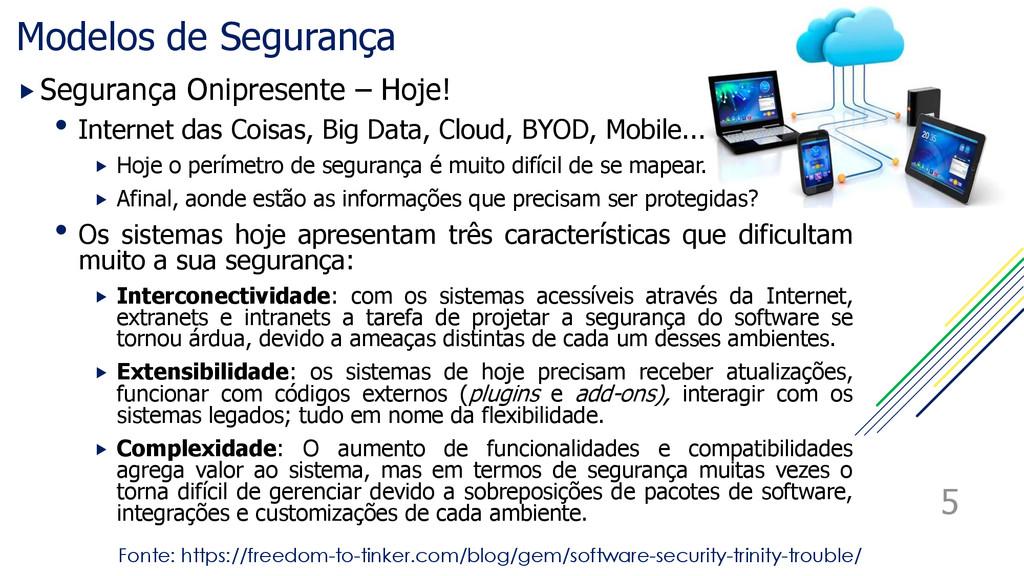Modelos de Segurança Segurança Onipresente – H...